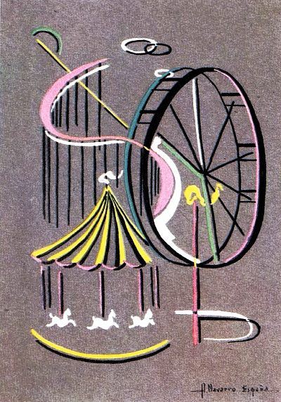 Alfredo Navarro España. c 1950. Untitled.