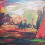 Acclaimed expressionist painter Abby Rubinstein lived in Ajijic from 1966 to 1976