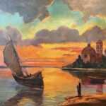 Art mystery: Where did August Lohr paint this scene?