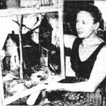 Charlotte Wax painted in Ajijic in 1947-48