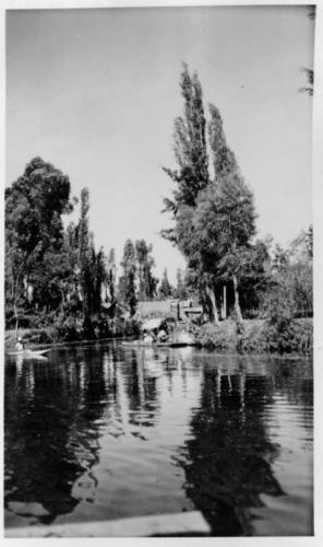 Herbert Johnson. c. 1943. Xochimilco.